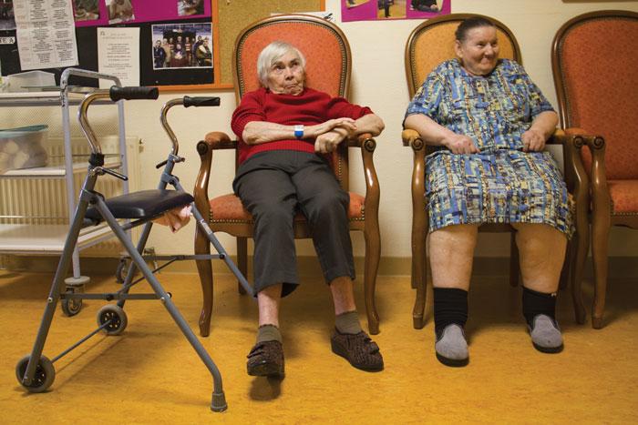 place en maison de retraite